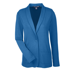 Devon & Jones® Ladies' Perfect Fit™ Shawl Collar Cardigan